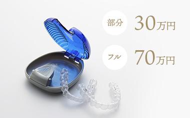 部分 30万円 フル 70万円